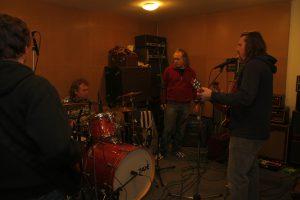 U.K.B. rock Praha ve studiu